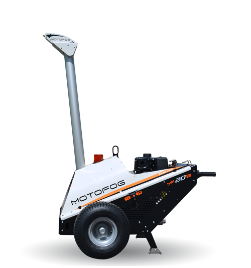 Motofog MF20 mobile self-contained mist gun for dust suppression