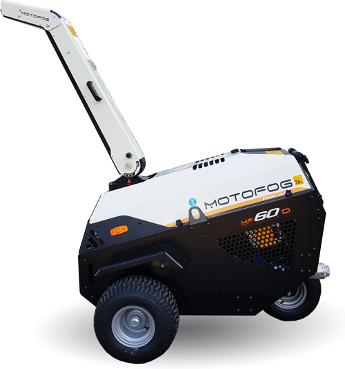 Motofog MF60 mobile self-contained mist gun for dust suppression