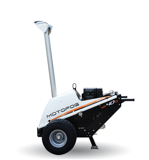 Motofog MF40 mobile self-contained mist gun for dust suppression